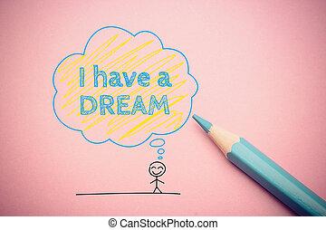 sen, mieć