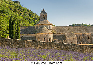 senanque abbey, provence, france