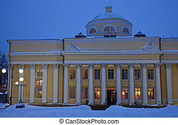 Senate Square in Helsinki, Finland