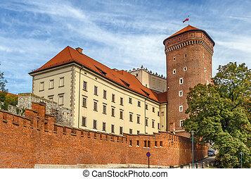 Senatorial Tower, Krakow, Poland