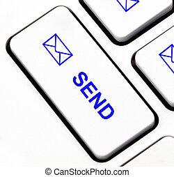 Send button on keyboard