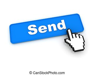 Send Button with Hand Cursor