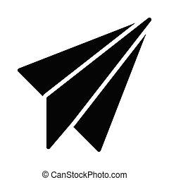 send glyph icon