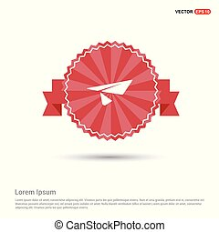Send icon - Red Ribbon banner