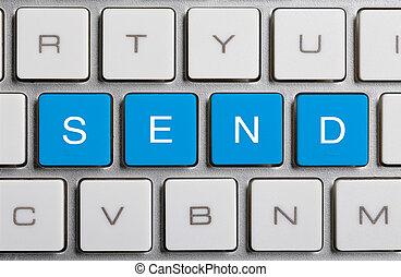 SEND On Keyboard