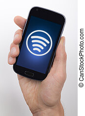 Sending contactless payment - Contactless payment or data...