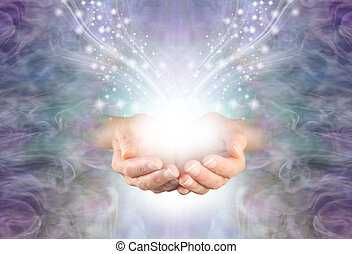 Sending High Resonance Healing Energy