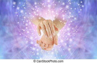 Sending Reiki Spiritual Healing Energy