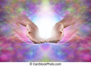 Sending Sacred Healing Energy
