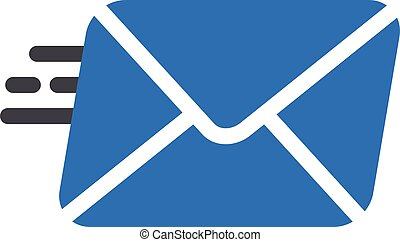 sending vector glyph colour  icon
