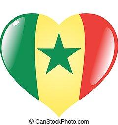Senegal in heart