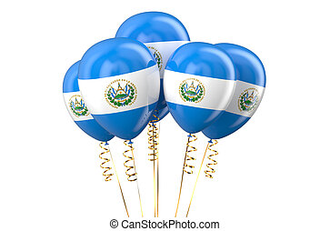 Senegal patriotic balloons, holyday concept