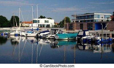 Senftenberg harbour