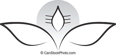 senhor, meditação, shiva, postura