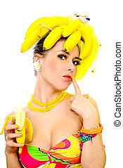 senhora, banana