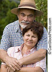 senior összekapcsol, romantikus