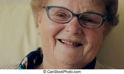 Senior Adult Women Smiling Happy HD