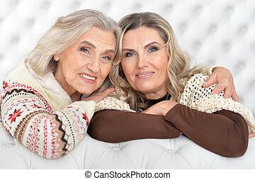 Senior and mature women