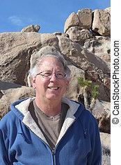Senior at Joshua Tree National Park