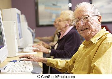 senior bábu, használt computer