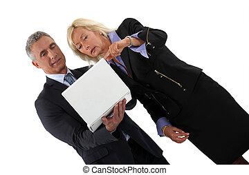 Senior business partners