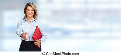 Senior business woman.