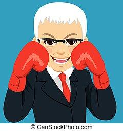 Senior Businessman Gloves