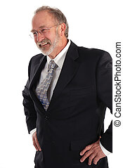 Senior Businessman - Portrait of a senior businessman