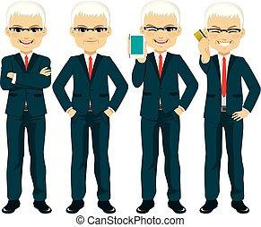 Senior Businessman Set
