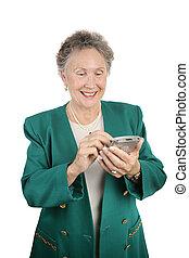 Senior Businesswoman PDA