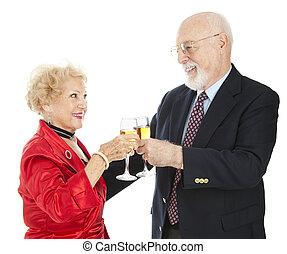 Senior Champagne Toast