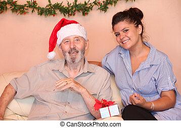 senior christmas