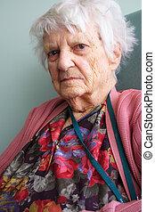 Senior citizen - 94 year old senior citizen