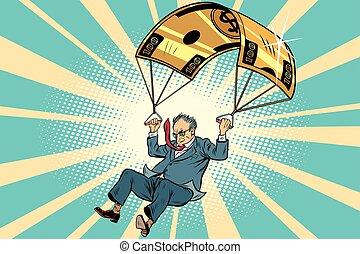 senior citizen Golden parachute financial compensation in the bu