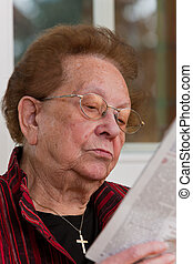 Senior citizen when read