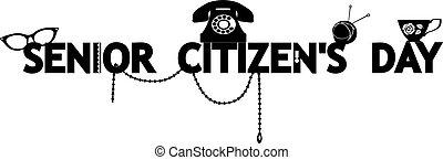 Senior Citizen's Day banner