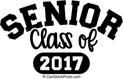 Senior class of 2017