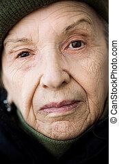 senior closeup - special toned photo f/x, focus point on eye...