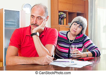Senior couple did not have money to repay the loan