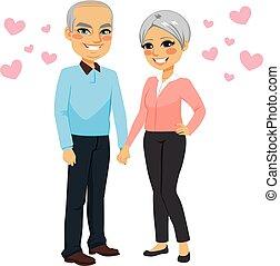 Senior Couple Love