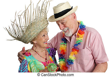 Senior Couple Vacationing