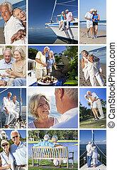 Senior Couples People Retirement Lifestyle