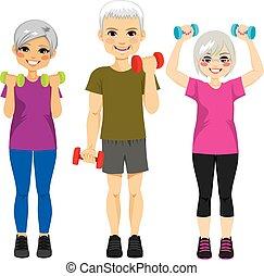 Senior Dumbbell Workout