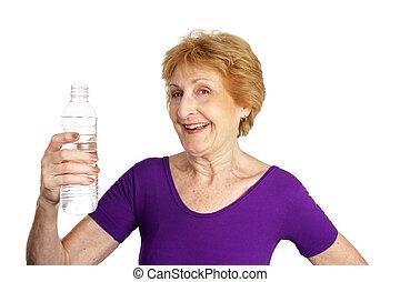 Senior Fitness - Thirsty