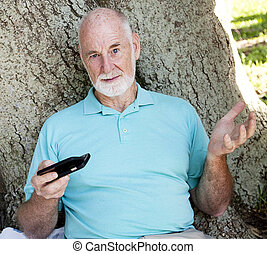 Senior Frustrated with Technology