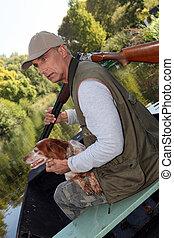 senior hunting