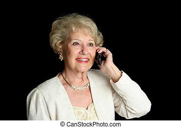 Senior Lady on Cell Phone