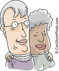 Senior Lesbian Couple