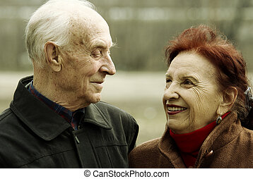 senior love story - special photo toned f/x, focus point on...