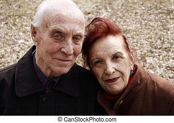 senior love story - special sepia photo toned f/x, focus...